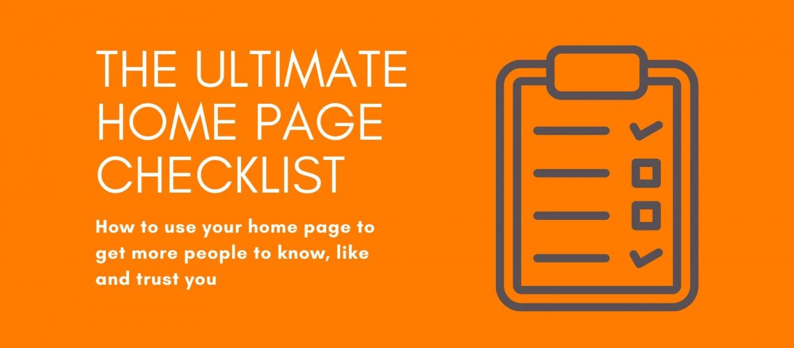 The ultimate home page checklist-website (1)